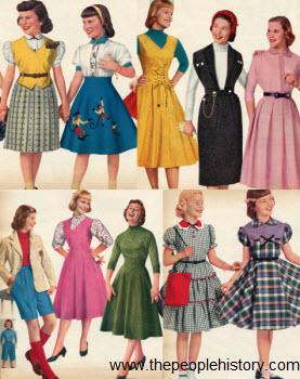 children�s fashion � 1950s fashionandhistory