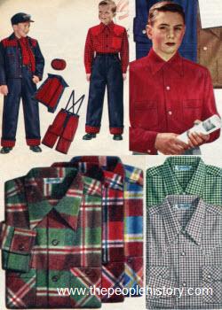 Children's fashion – 1950s fashionandhistory