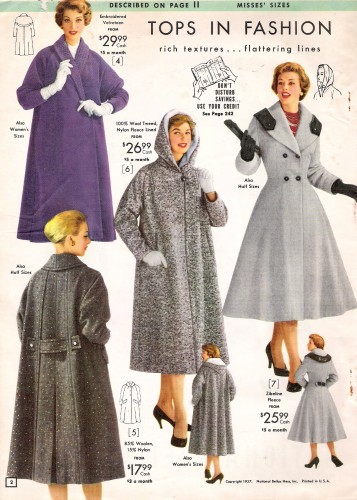 history of fashion 1950s Women's clothing christian dior's new look of 1947 continued to influence the fashions of the 1950s unpadded, rounded shoulders, shapely bust lines, closely-defined waistlines, and fully, billowy skirts define the new, more feminine wardrobe.